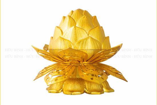 Bánh đậu xanh thỏi vàng sen 6 cánh